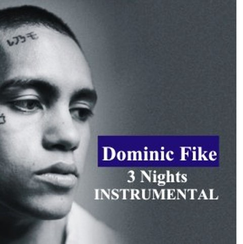 Dominic Fike - 3 Nights Instrumental Mp3 Download