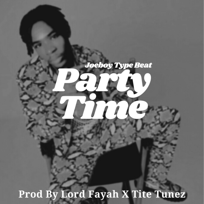 Party Time - Joeboy Type Beat 2021 Download MP3